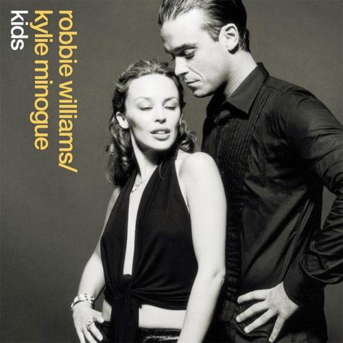 Kylie Minogue and Robbie Williams Kids