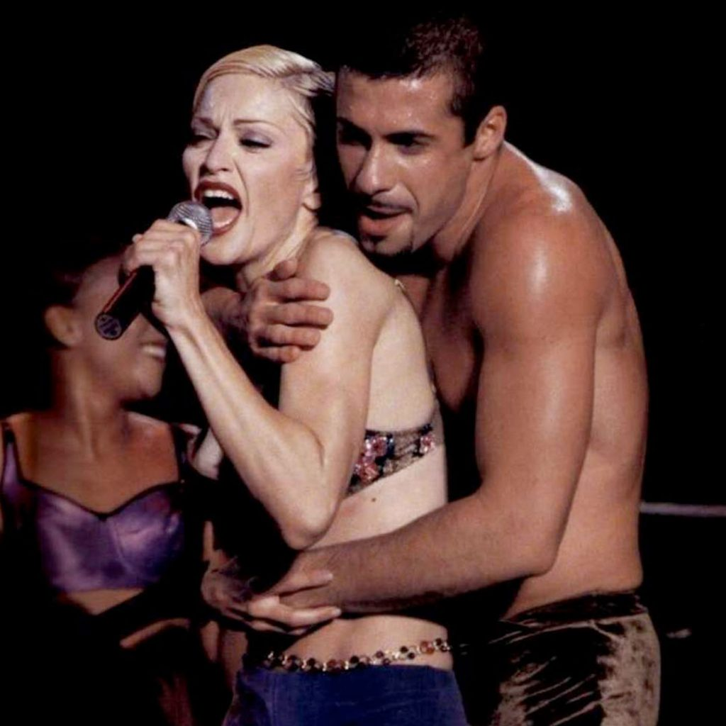 Madonna The Girlie Show luca tommassini