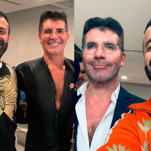 Simon Cowell e Luca Tommassini per X Factor UK